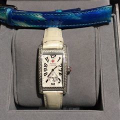 Michele Diamond Urban Park Silver Dial Watch MW02S0300030