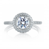 A.Jaffe Engagement Ring #MES325/136