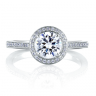 A.Jaffe Engagement Ring #MES332/130