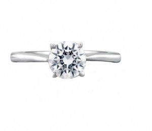 A.Jaffe Engagement Ring #MES423/100