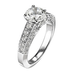 Scott Kay Radiance Engagement Ring #M1118RD10WW