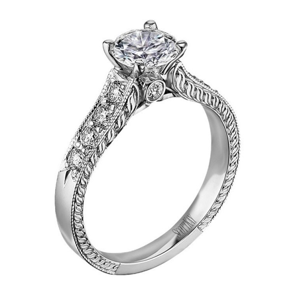 Scott Kay Vintage Engagement Ring #M1113RD10
