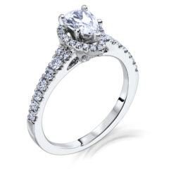 Scott Kay Luminaire Engagement Ring #M1649R510MM