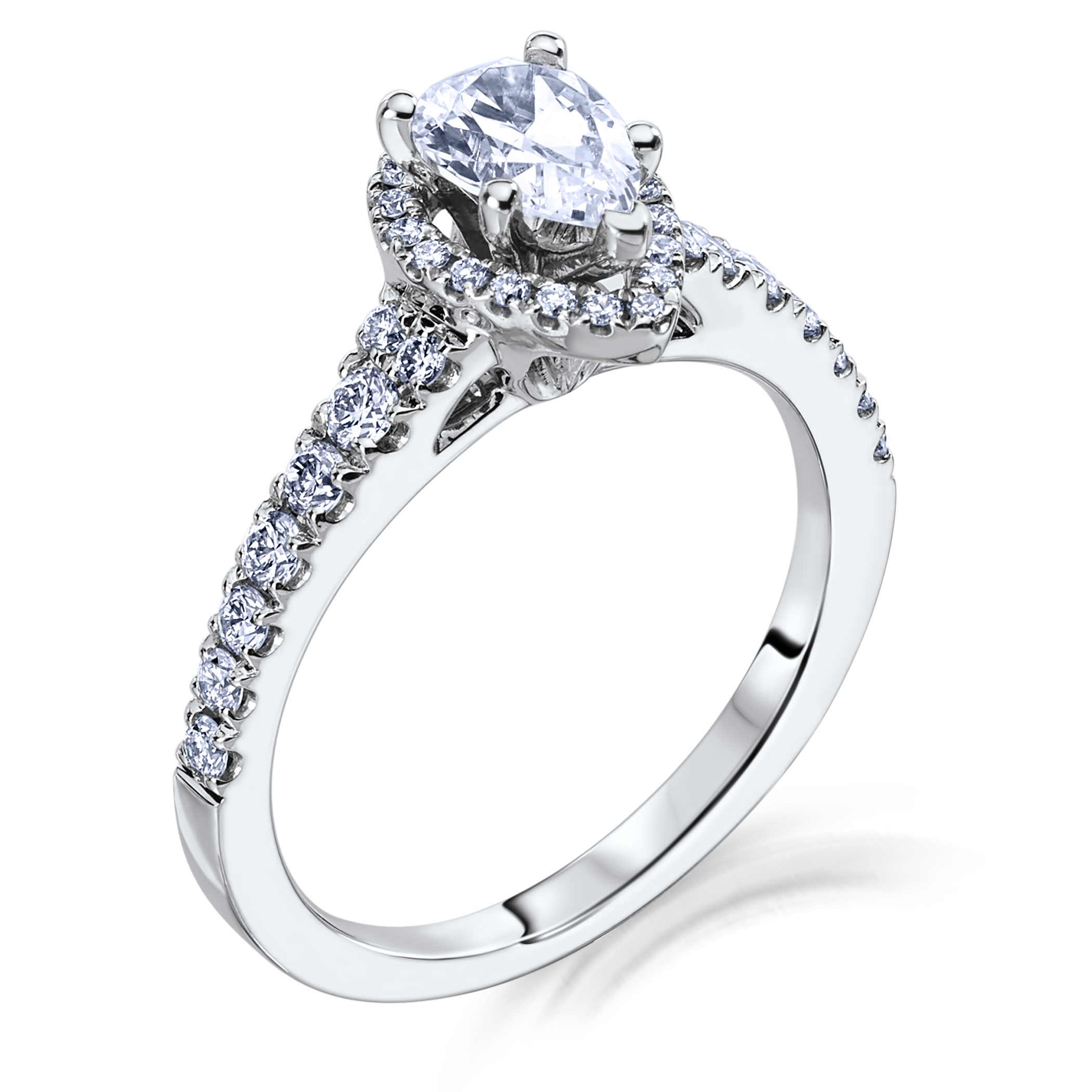 scott kay luminaire engagement ring m1649r510mm - Scott Kay Wedding Rings