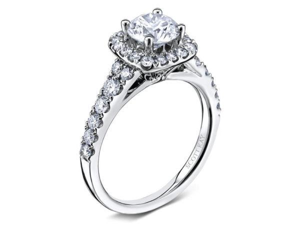 Scott Kay Luminaire Engagement Ring #M1657R310WW