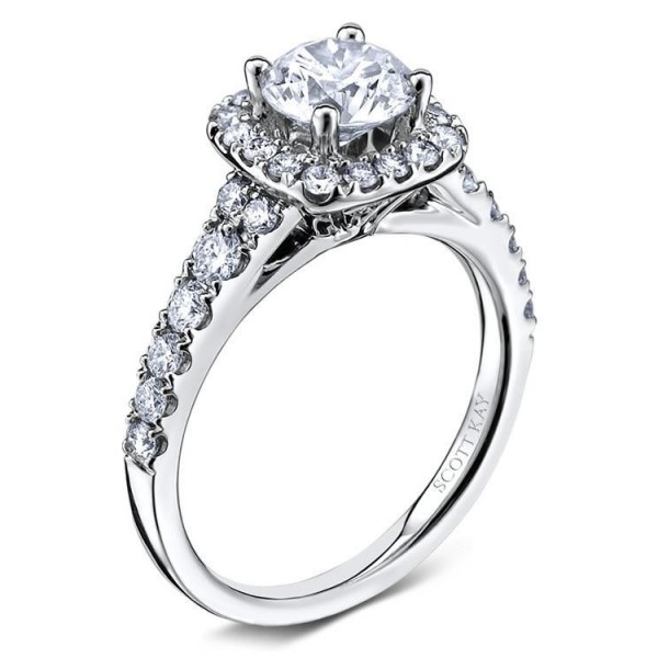 Scott Kay Luminaire Engagement Ring #M1657R310WW