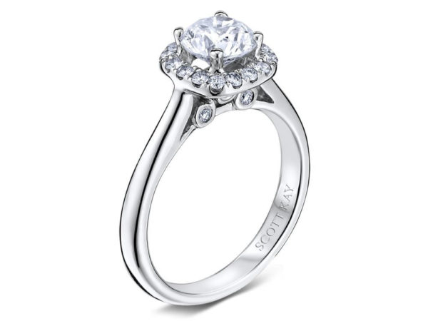 Scott Kay Luminaire Engagement Ring #M1677R310PP