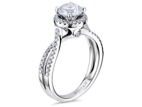 Scott Kay Luminaire Engagement Ring #M1756R310WW