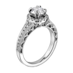 Scott Kay Heaven's Gates Engagement Ring #M1822R720