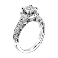 Scott Kay Heaven's Gates Engagement Ring #M1823R510WW