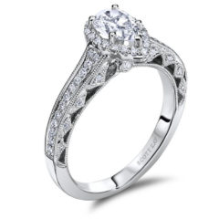 Scott Kay Heaven's Gates Engagement Ring #M1831R510WW