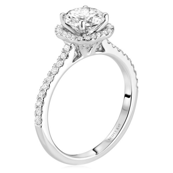 Scott Kay Luminaire Engagement Ring #M2027R510WW