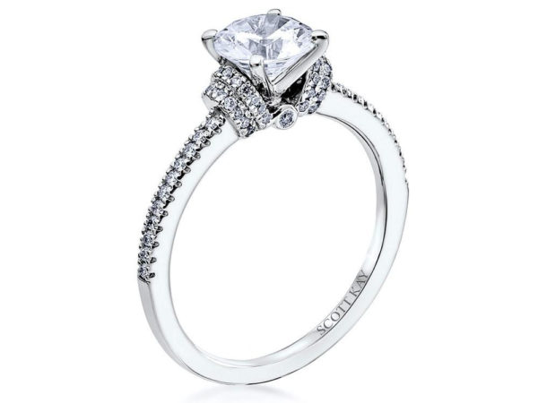 Scott Kay Signature Accents Engagement Ring #M2088R310WW