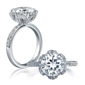 A.Jaffe Engagement Ring #ME1622/347