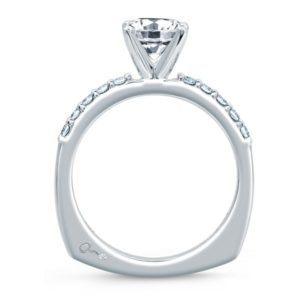 A.Jaffe Engagement Ring #MES078