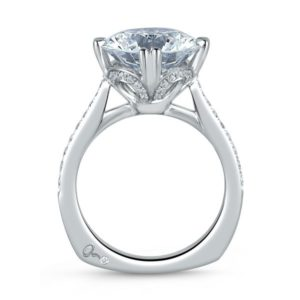A.Jaffe Engagement Ring #MES421/533