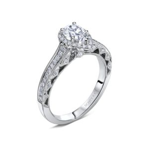 Scott Kay Heaven's Gates Engagement Ring #M1831R510MM