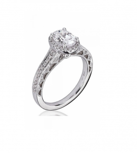 Scott Kay Heaven's Gates Engagement Ring #M1833R515WW