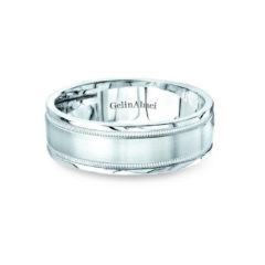 Gelin Abaci Amore Men's Wedding Band #B-150
