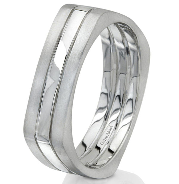 Gelin Abaci Amore Men's Wedding Band #B-174