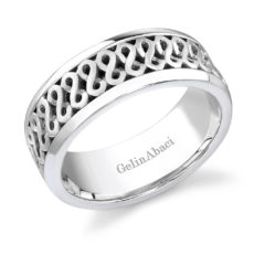 Gelin Abaci Amore Men's Wedding Band #B-202