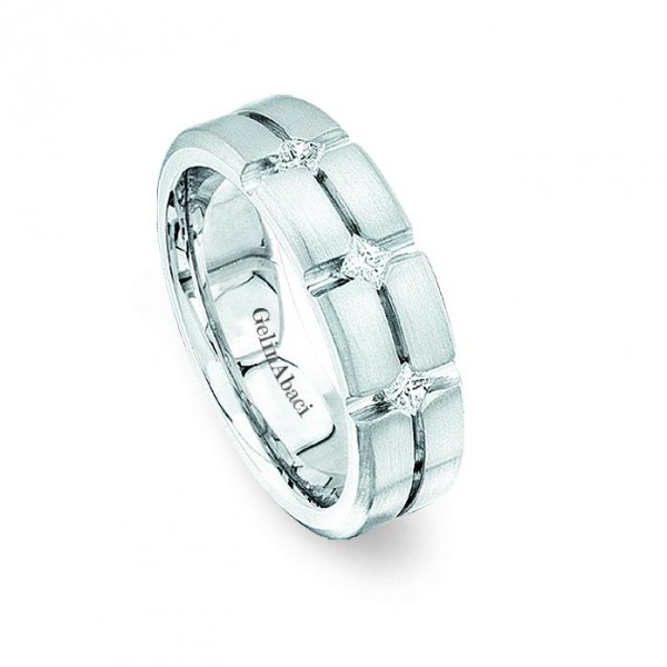 Gelin Abaci Amore Men's Wedding Band #C2595
