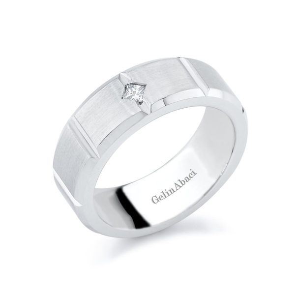 Gelin Abaci Amore Men's Wedding Band #C-3823