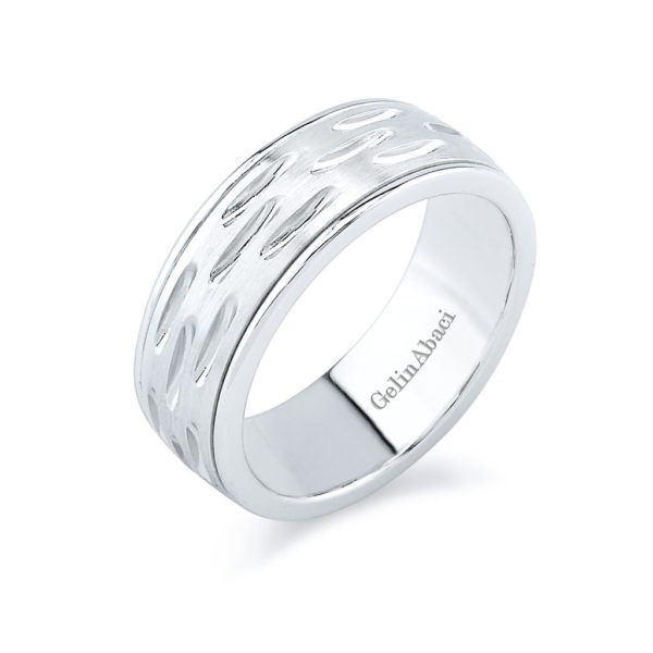 Gelin Abaci Amore Men's Wedding Band #C-3825