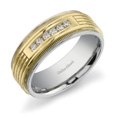Gelin Abaci Amore Men's Wedding Band #C-4838