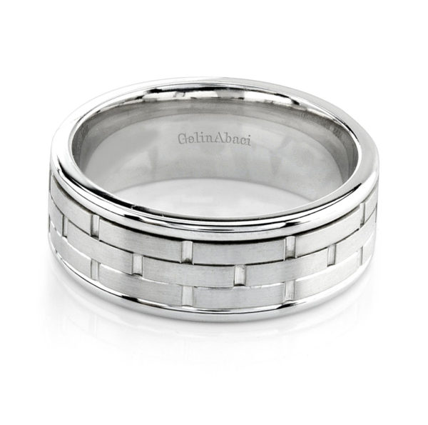 Gelin Abaci Amore Men's Wedding Band #D-3290