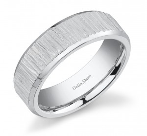 Gelin Abaci Amore Men's Wedding Band #E-4836