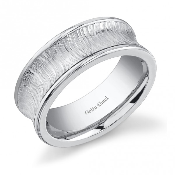 Gelin Abaci Amore Men's Wedding Band #E-4837