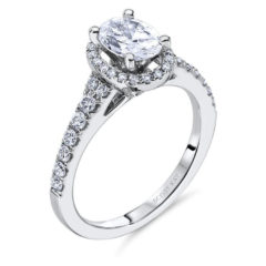Scott Kay Luminaire Engagement Ring #M1650R510MM