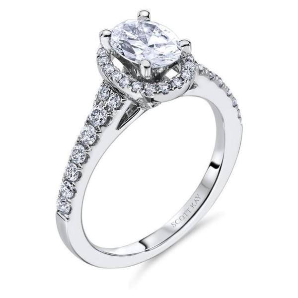 Scott Kay Luminaire Engagement Ring #M1650R510MM