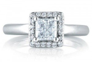 A.Jaffe Engagement Ring #MES475/90