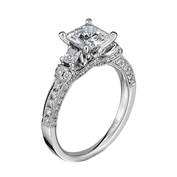 scott kay crown setting engagement ring m1639qr310ww - Scott Kay Wedding Rings