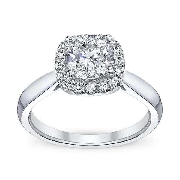 Scott Kay Engagement Rings: Scott Kay Luminaire Engagement Ring #M1677R310PP