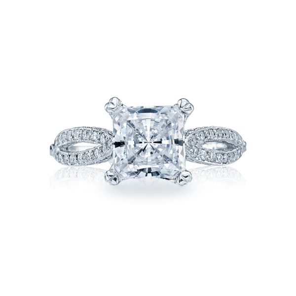 Tacori Ribbon Engagement Ring #2573PR