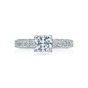 Tacori Crescent Engagement Ring #HT2229