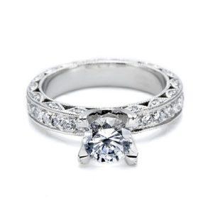 Tacori Crescent Engagement Ring #HT2229