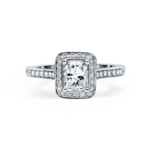 Vintage Engagement Ring Style #SM318536