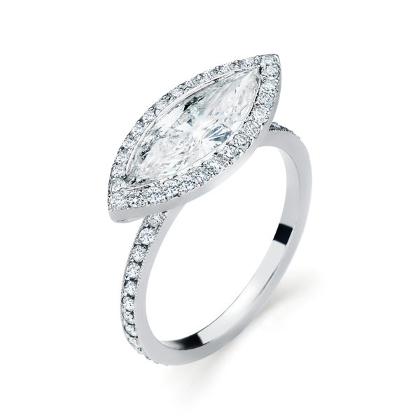 Vintage Engagement Ring Style #SM30901
