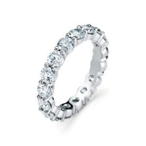 Garvani Eternity Wedding Band #4995P