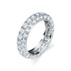Garvani Eternity Wedding Band #30456
