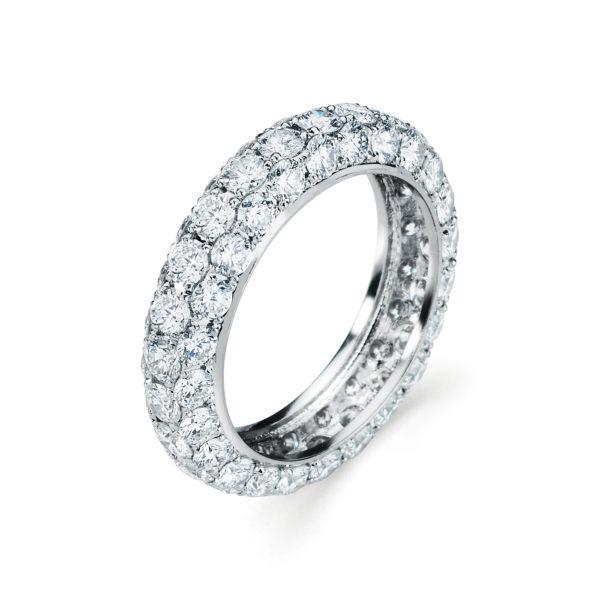 Garvani Eternity Wedding Band #30456