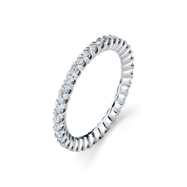 Garvani Eternity Wedding Band #301255