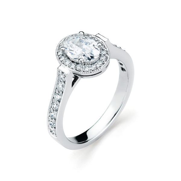 Stuart Moore Engagement Ring #310020