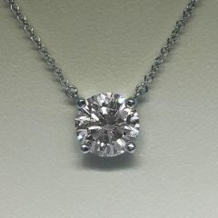 Tiffany & Co. Diamond Stud Necklace Consignment #101