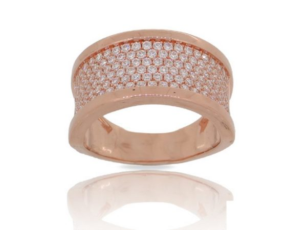 Lūvente Ring Style#R02634-RD.Y